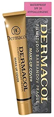 Dermacol Make-up Cover - Waterproof Hypoallergenic For All Skin Types - All Shades - 1oz / 30g
