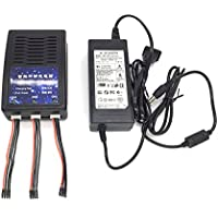 Hobby Signal Q500 4K Charger 3 in 1 Battery Balance Charger Parallel Charging Adapter for YUNEEC Q500