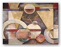 (30x40) Marlene Healey Levitating Sphere Art Print Poster