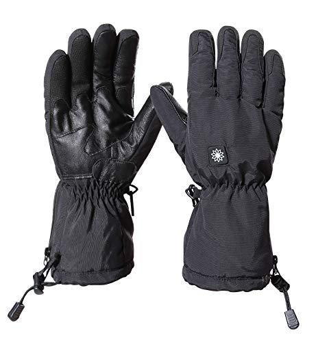 Q_STZP Handschuh Handschuhe Fäustling Touch Screen Handschuhe Heizung USB Winter im Freien Ski Elektroauto warme Heizhandschuhe