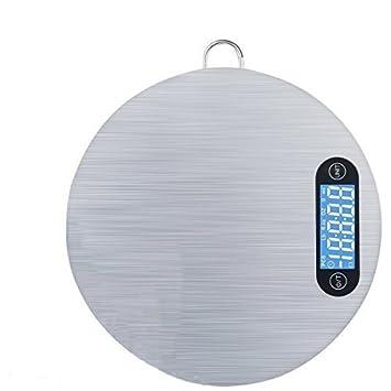 Báscula de cocina digital Walier, báscula de cocina de acero inoxidable, báscula colgante para alimentos, medición de conteo de nutrición escala de gramo ...