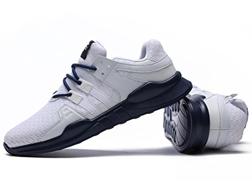 White Sport Shoes Trainers Lace 716 Mens up ONENICE Casual Lightweight Running Black Sneakers Runners SP4xxqC1w