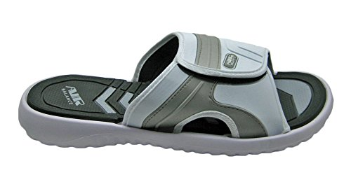 Strap Air Beach Adjustable Gray Shower for Men Comfortable White in Slippers Classy Sandal Colors HwA5wg
