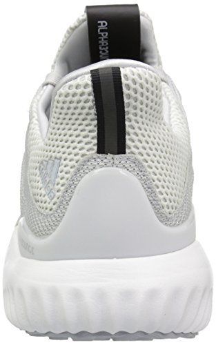 adidas Performance Herren Alphabounce M Laufschuh Kristallweiß / Clear Grey / Light Onix