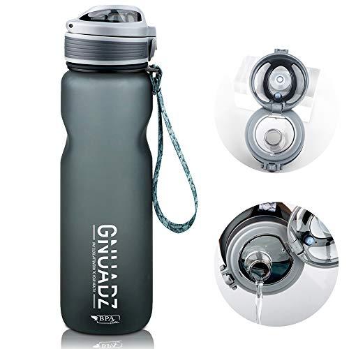🥇 GNUADZ 36oz Water Bottle with Capacity Marker