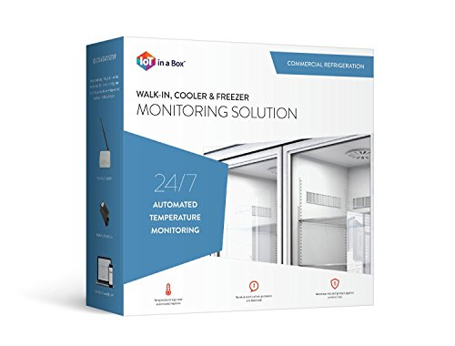 Monitoring Solution - IoT in a Box: Commercial Refrigration Monitoring Solution (for use in Refrigerator, Walk-in, Cooler, and Freezer Monitoring), Includes FREE Device Monitoring Subscription