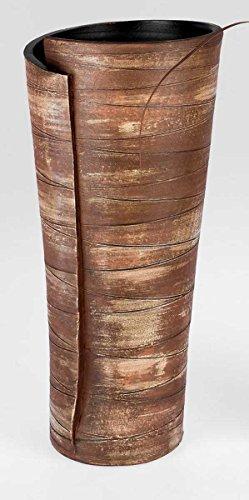 Formano Vase Deko-Vase Dekovase Bodenvase 769763 Blumenvase Rustica braun schwere Keramik Keramikvase