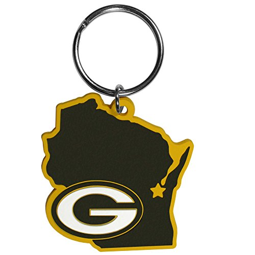 NFL Green Bay Packers Home State Flexi Key Chain