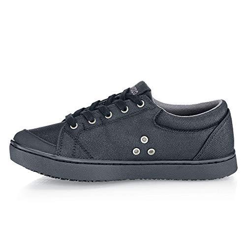 MOZO Women's Maven Food Service Shoe, Black, 8 B US