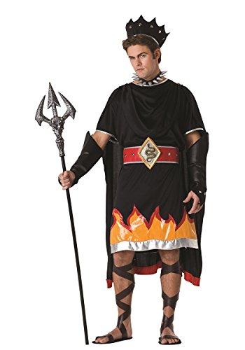RG Costumes Men's Hades, Black/Orange/Red/Silver, One Size]()