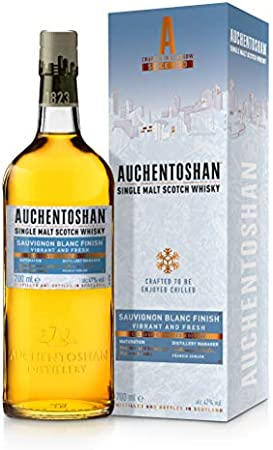 Auchentoshan Sauvignon Blanc Single Malt Whisky Escocés, 47% - 700 ml