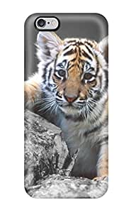 Case Cover, Fashionable Iphone 6 Plus Case - Cute Tiger by ruishername