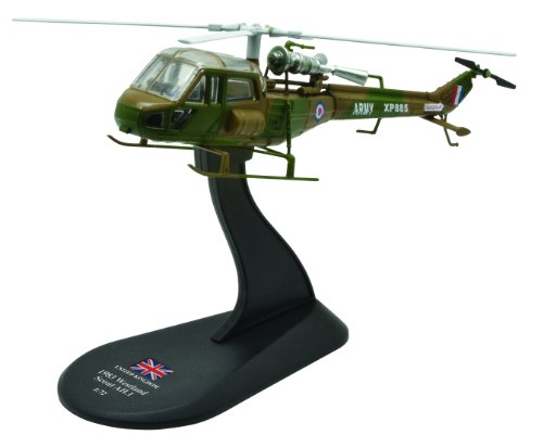Westland Scout diecast 1:72 helicopter model (Amercom HY-51) (Scout Helicopter)