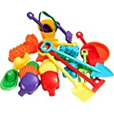 Chad Valley 25 Piece Sand Accessory Set.