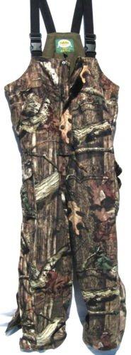 CABELA'S REVOLUTION Fleece Dry-Plus Insulated Hunting BIBS (Mossy Oak Break-up INFINITY, X-Large)