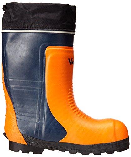 Viking Footwear Bushwhacker Vanntett Stål Tå Vinterstøvler Svart / Orange