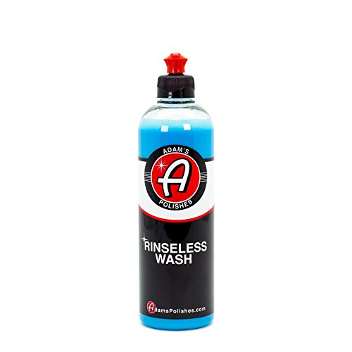 Adam's Rinseless Wash 16oz - High Tech Polymers Prevent Scratching and Swirl Marks - Wash Anywhere, Anytime, Without a Hose ()