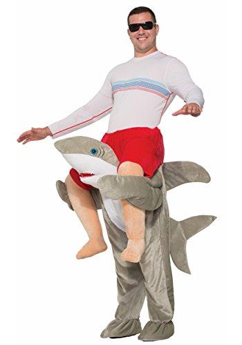 Forum Novelties Men's Shark Deluxe Ride-on Costume, As Shown, OS -