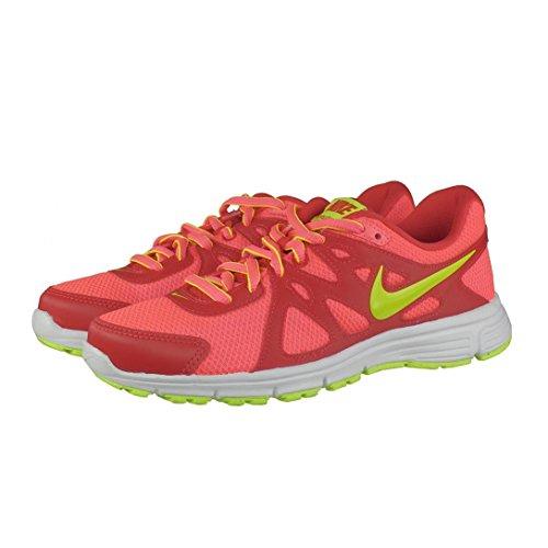 Nike Revolution 2 MSL - Zapatillas de running Niñas Rojo / Rosa / Amarillo / Blanco