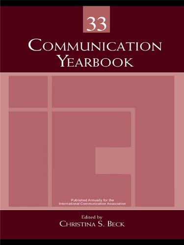 Download Communication Yearbook 33: Volume 33 Pdf