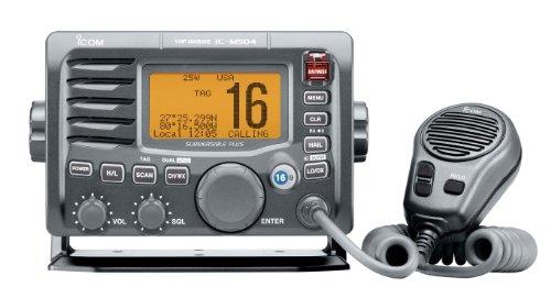 ICOM IC-M504A 63 M504 Fixed Mount VHF Radio - Grey