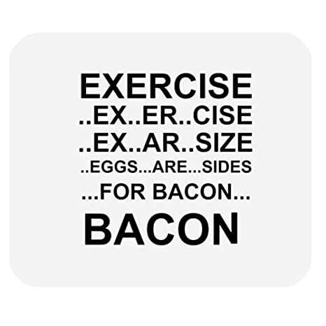 Amazoncom Funny Quotes Saying Mouse Pad Eggs Are Sides