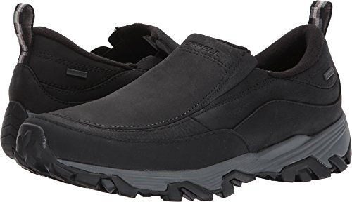 Merrell Men's Coldpack Ice Waterproof Slip On Shoe Black 11 M US Merrell Athletic Shoes