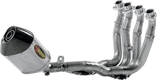Akrapovic Racing Line Full System (4:2:1) - Hexagonal Titanium Muffler, Material: Titanium S-S6R6L-ZT