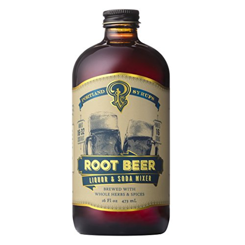 Portland Soda Works, Syrup Cocktail And Soda Root Beer, 16 Ounce