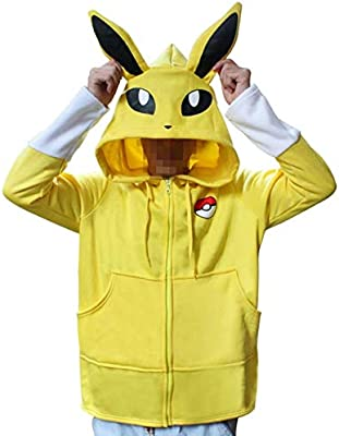 GJBXP Anime Pokemon Go Pikachu Umbreon Ears Hoodies disfraz de ...