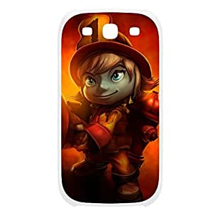 Tristana-004 League of Legends LoL case cover Samsung Galaxy Note4 Plastic White