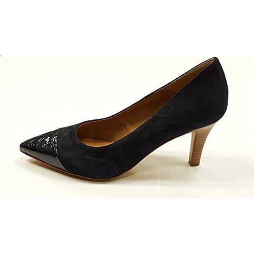 Tamaris 1-22412-28 zapatos de tacón mujer azul marino