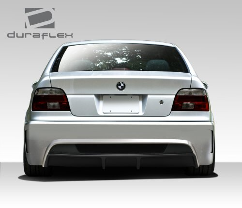 Duraflex Replacement for 1997-2003 BMW 5 Series E39 4DR GT-S Rear Bumper Cover - 1 Piece ()