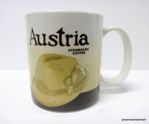 Austria Osterreich Starbucks 2011 Icon Global Series Coffee Tea Mug