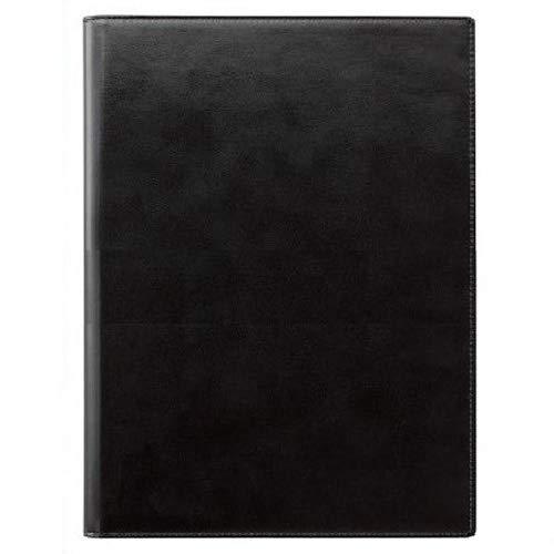 (まとめ買い)レイメイ藤井 ツァイトベクター レポートパッド 合皮製 A4 ブラック ZVPG5B 【まとめ買い3冊セット】   B07GJ5L3G5