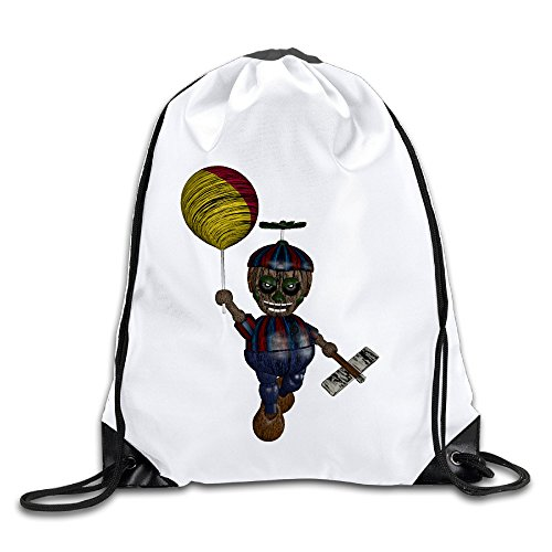 [Hunson - Geek Phantom Balloon Boy Sport Bag Gym Bag For Men & Women Sackpack] (Cleveland Costumes)