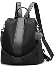 Women Backpack Anti-Theft Tote Shoulder Handbag PU Leather Rucksack School Backpack Casual Daypack Business Travel Fashion Bag for Women Girls Ladies