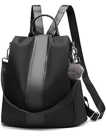 cf8ea0094da Women Backpack Anti-Theft Tote Shoulder Handbag PU Leather Rucksack School  Backpack Casual Daypack Business