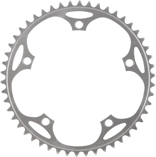 Shimano FC-7710 Dura-Ace Track chainring 3/32 inch Thickness 48 Teeth, Silver
