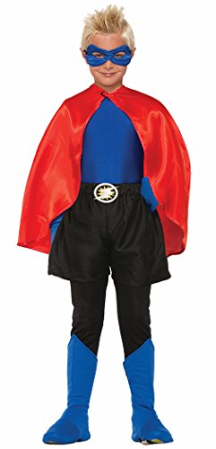 Blue Costumes Boots (Forum Novelties Child Hero Boot Covers, Blue)