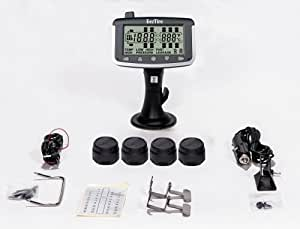 EEZTire Tire Pressure Monitoring System - 4 Sensors (TPMS)