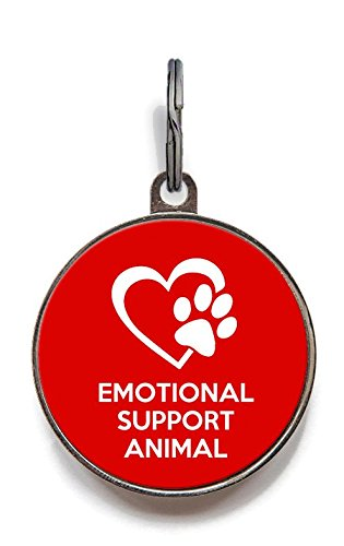 Wag-A-Tude Tags Emotional Support Animal Pet Tag (Large) for sale  Delivered anywhere in USA