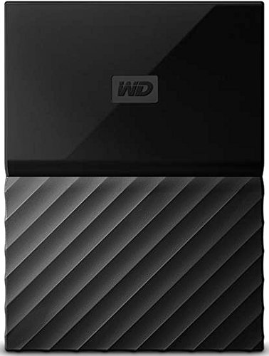 Western Digital WD Portable External Hard Drive, 4TB, USB 2.0/3.0, WDBYFT0040BBK-WESN, Black