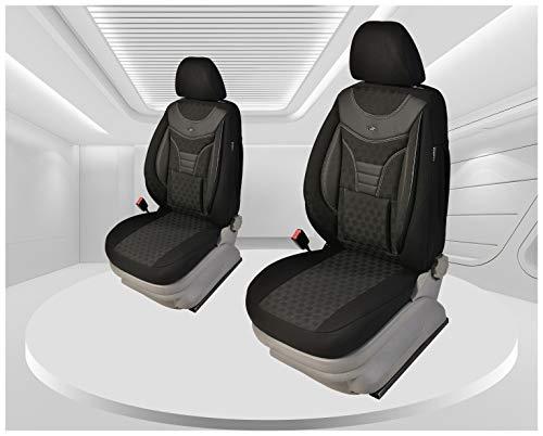 Maat stoelhoezen compatibel met Hyundai Kona bestuurder en passagiers vanaf 2017 Kleurnummer: 910