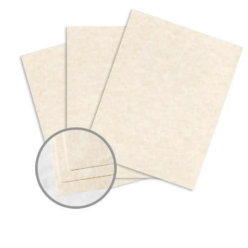 - Astroparche Natural Card Stock - 8 1/2 x 11 in 65 lb Cover Vellum 30% Recycled 250 per Package