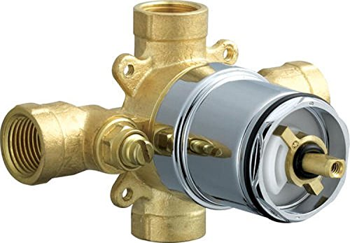 Peerless PTR188700-PXWS Pressure Balance Shower Valve Body Male Thread Outlet PEX Inlet with Stops by Peerless
