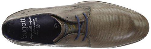 Cordones Grau de Derby 1200 Bugatti Zapatos para Hellgrau 312105071100 Hombre tqpp0xEv