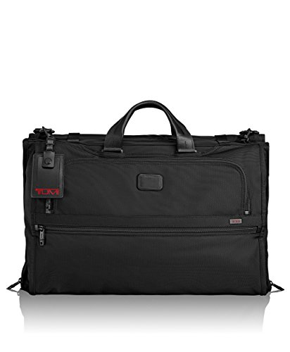 old Carry-On Garment Bag - Dress or Suit Bag for Men and Women - Black ()