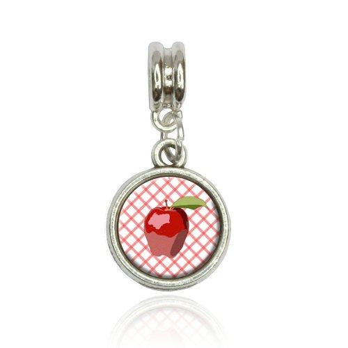 Apple Euro European Italian Style Bracelet Bead Charm
