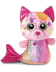 NICI 46825 GLUBSCHIS Knuffel Zeemeermin Kat Aqua-Marie 15cm, Roze